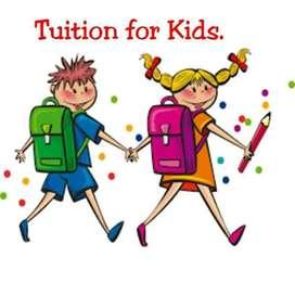 Home Tution undertaken for kids (Home tution & Online classes )