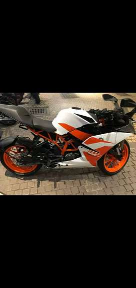 FULLY INSURED KTM RC200 WHITE