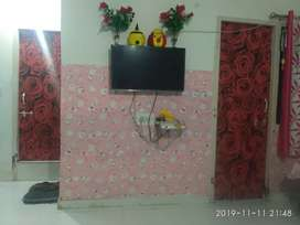 Fully furnished flat for sale at discounted price on good location