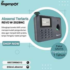 Absensi Canggih Terlaris Revo W-202BNC Koneksi Wifi