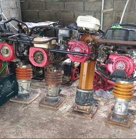 Sewa stamper molen vibrator genset cutting beton pompa air babyroller
