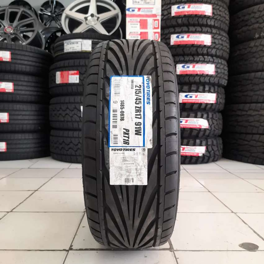 Toyo tires 215/45 R17 PXT1R. B/u mobil mazda6 altis accord mercy 0