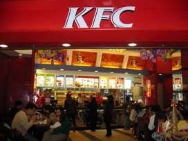 Counter sales executive for kfc outlets