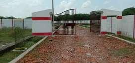 100 गज प्लॉट14लाख मैं कल्याणपुर रेलवे स्टेशन से5 मिनट दूरी तुरंत मकान