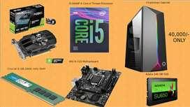 Gaming PC @ 40,000 | GTX 1650OC | i5-9400F| 8GB RAM| 240 GB SSD|