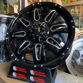 Velg 20 LEXXEL Milling 6Hole Pajero Fortuner Triton Ford Hilux Dll