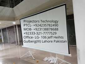 Manual and Electric Multimedia Projector Screens In Lahore