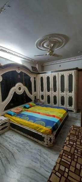 2 Room furniture Bed, wardrobes dressing table