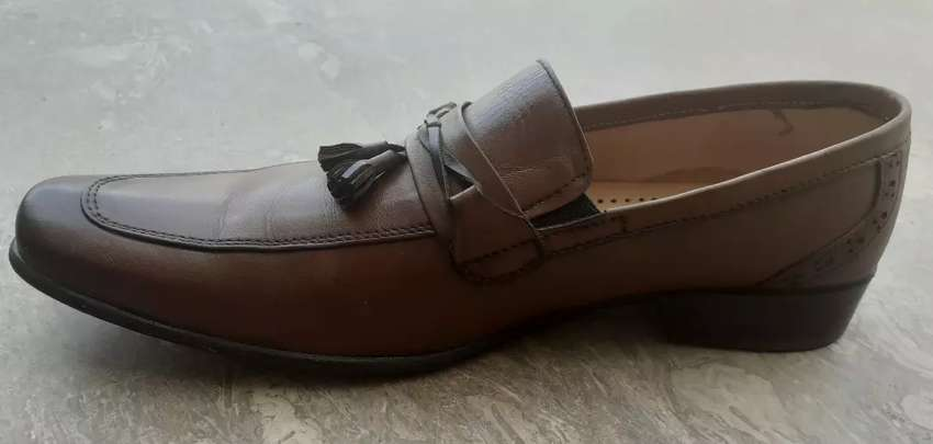 Leather Shoes New Condition urgent for sale 0