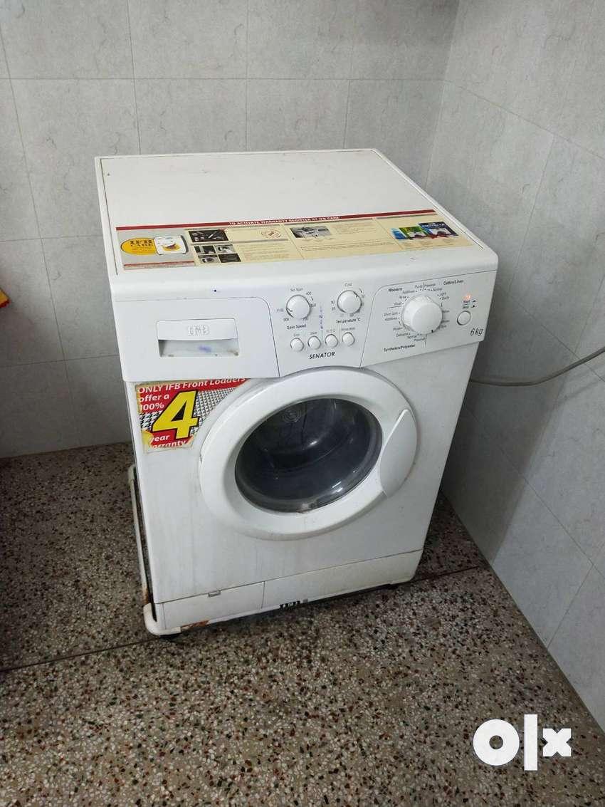 IFB 6kg. Senator front loading washing machine. 0
