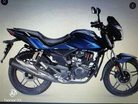 Hero honda CBZ blue compney condition 1st owner