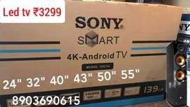 "Large discount sales alongwth warnti smart4k LEDs 55""29999 varioussize"