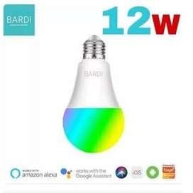 BARDI Bohlam Lampu Smart Home LED Light Bulb Wifi RGBWW 12W 12 Watt