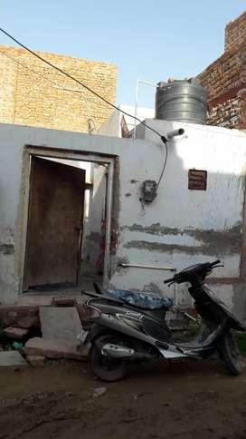 Small home Gandhi garh in Mukta Prasad Nagar bikaner