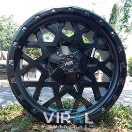 Velg Racing Ring 20 PCD 5x114,3 5x127 Pelek Mobil CRV HRV Rubicon R20