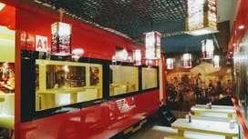 Train Theam Restaurant 3floors for sale at Jalandhar bypass,Ludhiana.