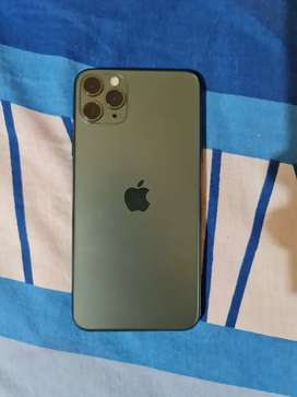 Iphone 11 Pro Max 64 GB Midnight Green..