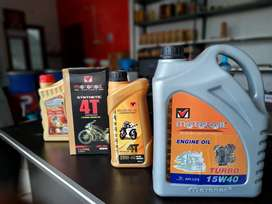 CAR BIKE & AUTO ENGINE OILS