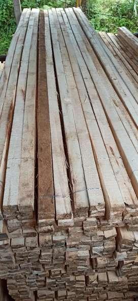 Dijual kayu lokal dan bambu