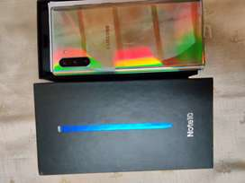 Note 10 8 256 aura glow new only aectivet non use