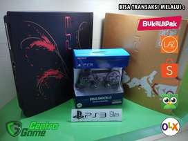 PS 3 Slim O[F]W 320GB Sudah Full Game,Ready For Play, Include 2 Stick