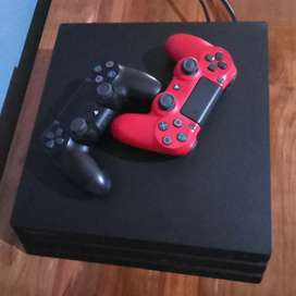 PS 4 pro jet black