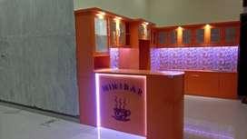 kitchen set mini bar menarik design elegant DAP multiplek