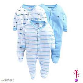 Rompers for boy baby and girl baby pack of 3