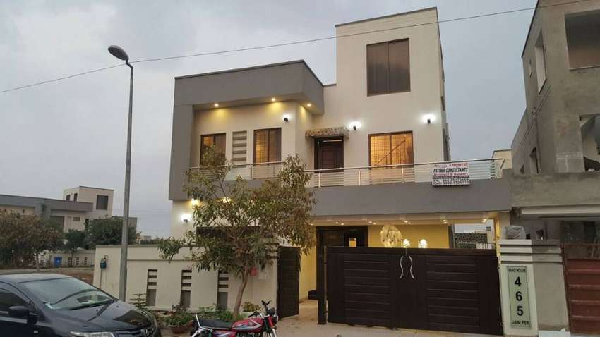 10 Marla  Double Storey House For Rent In  Bahria Town Lahore 0