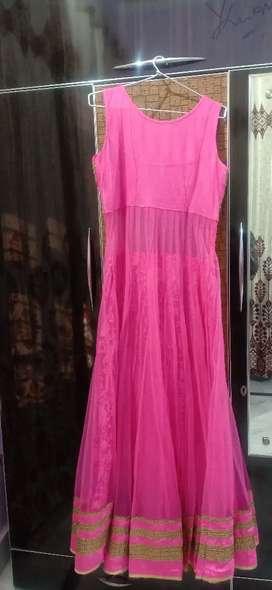 Pink unused gown