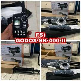 LIGHTING GODOX SK400II STUDIO LAMP, LENGKAP COCOK UNTUK STUDIO FOTO
