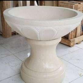 Pot Tanaman Teratai Marmer Eksklusif dan Murah Terrazzo