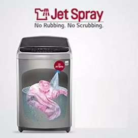 2 year old LG fully automatic top load washing machine