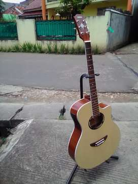 Gitar akustik elektrik new