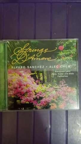Compact disc instrument by Alfaro Sanchez