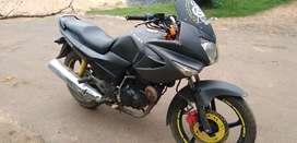 hero honda Karizma R 2008 modified metalic black coloured