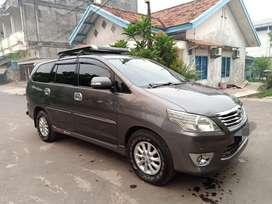 Toyota kijang INNOVA V 2.0 2012/2013 MT istimewah rapih