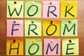 Making an income simple english typing work data entry job