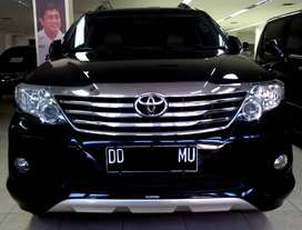 TOYOTA FORTUNER 2.7 G AT LUX HITAM METALIK 2013