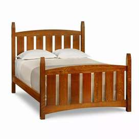 Elegant Solid wooden Double bed S 04