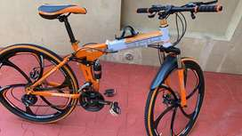 Brand new bicycle for more detail call me