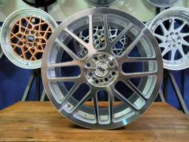 Velg Mobil Toyota Avanza Veloz Ring 17 RAI-S1 HSR - Gratis Ongkir