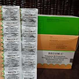 Vitamin Becom C (Bisa satuan)