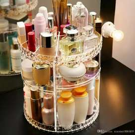360 Rotating _Diamond_ Cosmetic Organizer imported quality