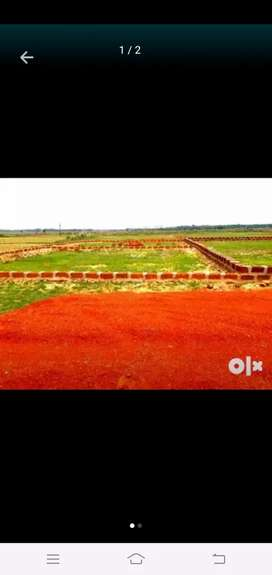 Plot for sale in aims hospital