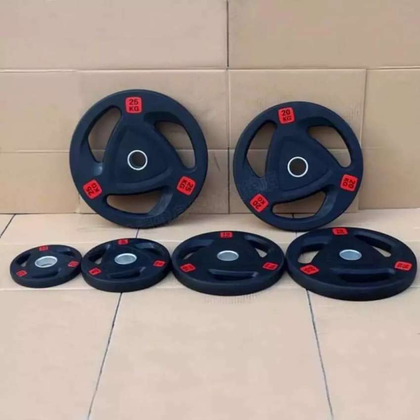 Best quality Black Rubber coated plates