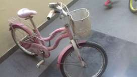 Pink colour cycle for 7-8 years age