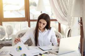 Female Computer Operator Available for Data Entry Job