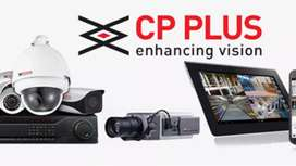 Cp plus / HIKVISION CCTV 4 camera ir night vision with HD CLARITY