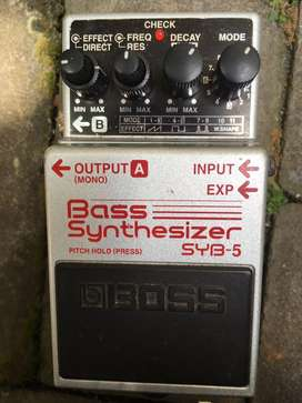 Boss Bass Synth Pedal Effect SYNB - 5